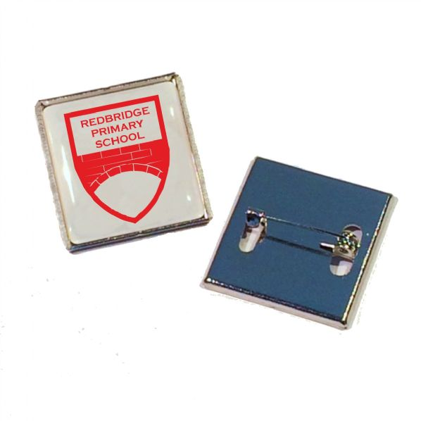 Rectangle Standard Quality Badge,
